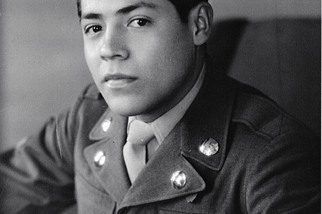 Cpl. Luis Torres in his Army uniform in this undated photo. Torres was reported Missing In Action Sept. 1, 1950, near Changyong, Republic of Korea. His remains were identified July 2016, and were sent to Texas January 2017, to his final resting place. (Photo courtesy of Carlos Mendoza)
