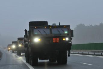 Atlantic Resolve Logistics: Life on the highway