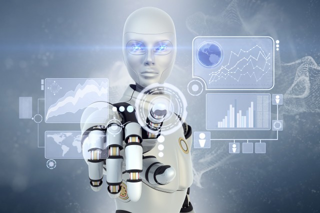 Researchers at ARL are exploring methods for robots to learn and use models that enable faster autonomy by assessing when and under what conditions different methods of sensing perform well or poorly. (Image by iLexx/iStock)