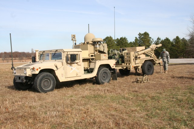 The Warfighter Information Network-Tactical (WIN-T) Tactical Communications Node-Lite, like the one seen here during a developmental test at Fort Campbell, Kentucky, in mid-December 2016, provides satellite and line-of-sight network connectivity, both on-the-move in a convoy, at the quick halt, and to the stationary command post, enabling mission command and advanced communications. (U.S. Army photo by Amy Walker, PEO C3T Public Affairs)