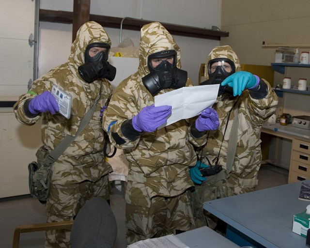 Dugway trains chemical and biological defense units