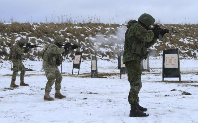 Marksmanship density unites NATO allies