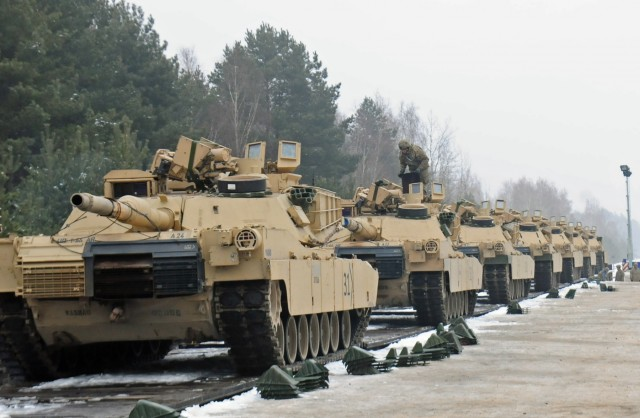 Armor unit's move to Germany signals start of persistent presence throughout Europe
