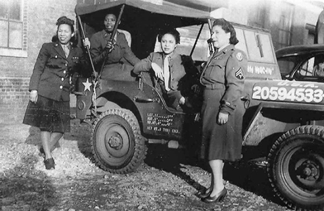 African-American women in WWII