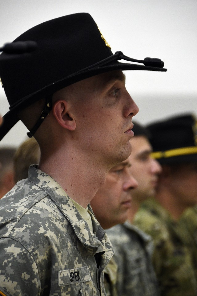 Command Remembrance ceremony for Sgt. Ryan Jopek