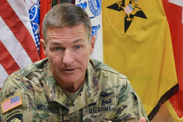 Lt. Gen. James C. McConville, the Army deputy chief of staff, G-1