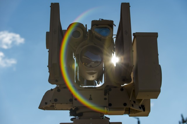 The Common Remotely Operated Weapon Station (CROWS) is mounted on top of a High Mobility Multipurpose Wheeled Vehicle during a fielding to U.S. Army Reserve units at Fort Chaffee, Arkansas, Jan. 23-27, as part of a four-part fielding process intended to field CROWS to more than 25 Army Reserve units this fiscal year. The CROWS is a remote-controlled system compatible with four major crew-serve weapons, and it was developed to keep gunners safe within the vehicle while engaging enemy targets.