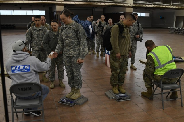 ohio national guard military police company deploys to