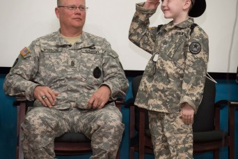 Texas National Guard conducts final roll call for 10-year-old Spc. Rowan Windham
