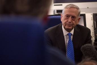 Mattis issues budget guidance, says fiscal 2017 submission will rise