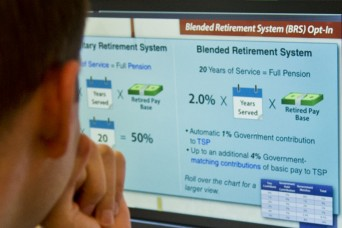 Troops to receive training on Military's new Blended Retirement System