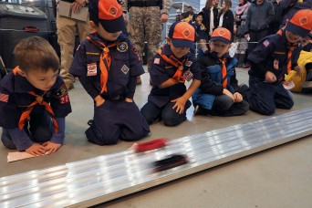 Humphreys Cub Scouts hold annual Pinewood Derby