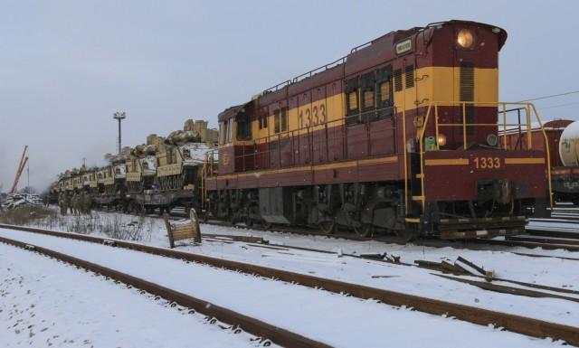 1-68 AR brings armor to Estonia