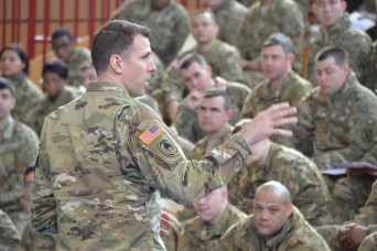 USAG Ansbach command team greets first 10th CAB contingent