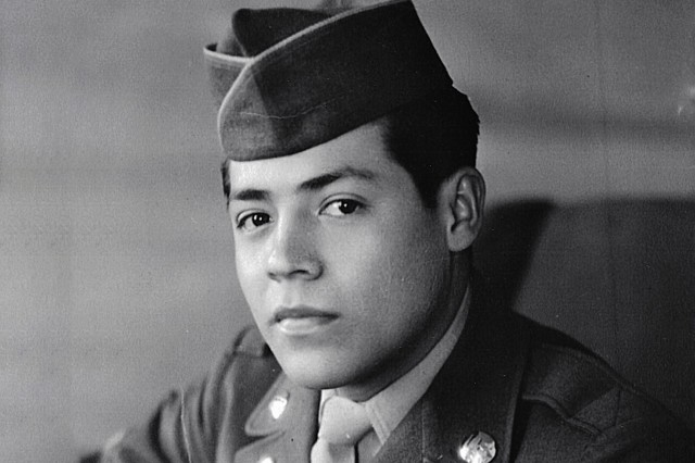 Cpl. Luis Torres in his Army uniform in this undated photo. Torres was reported Missing In Action Sept. 1, 1950, near Changyong, Republic of Korea. His remains were identified July 2016, and were sent to Texas January 2017, to his final resting place.