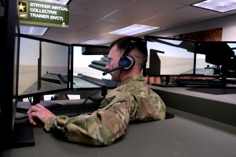 Army team simulates $5 million Stryker with plywood, touch screens