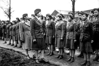 Sorting the mail, blazing a trail: African-American women in WWII
