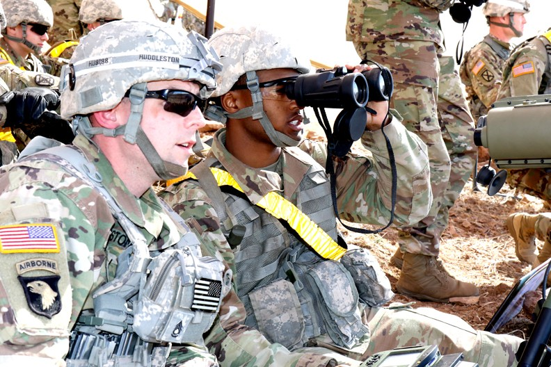Fire support specialists are eyes of field artillery | Article | The