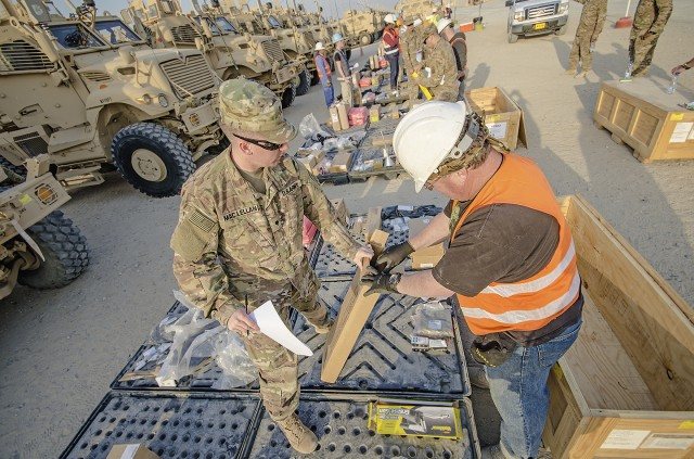 APS-5 increases speed of issue, provides MRAPs to 82nd Airborne Division Soldiers