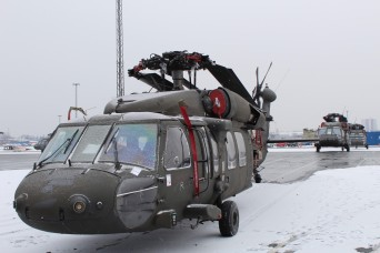 "10th CAB helicopters ready to ""fly to glory"" in Europe"