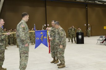 Eighth Army honors high-readiness unit with streamer