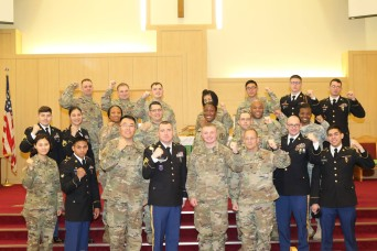DAEGU, South Korea -- The 19th Expeditionary Sustainment Command Unit Ministry Team hosted the 8th Army Chaplain Assistant Noncommissioned Officer and Soldier of the Year Competition on Camp Walker, Feb. 9-10, to determine their best qualified chapla...