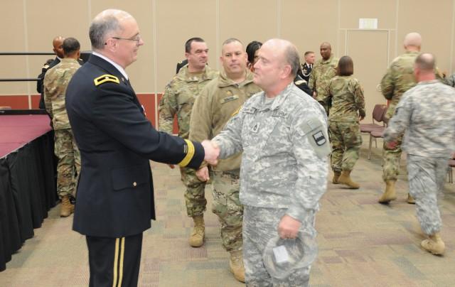 Goodbye, Brig. Gen. Evans