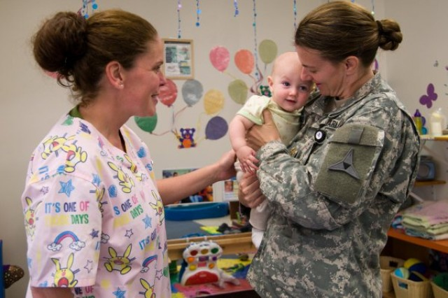 The Army is dealing with a child care backlog of over 5,500 children, which senior leaders worry could affect the readiness of military parents.