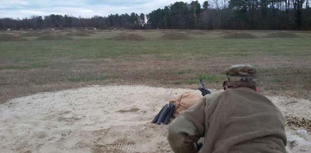 RPOE Soldiers demonstrate expertise during marksmanship course