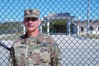 Face of Defense: Cuban born senior Army NCO returns home