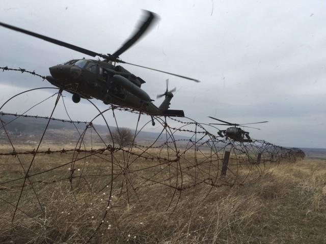 'Fighting Eagles' prepare equipment for future training