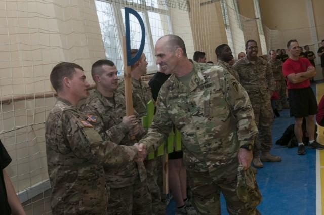 National Guard General Visits Deployed Oklahoma Guardsmen