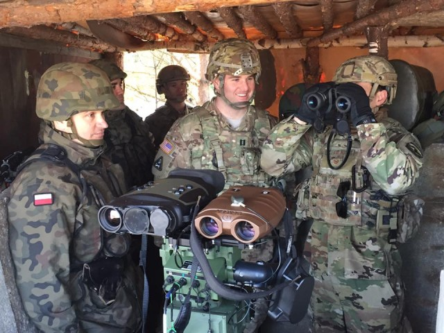 4-10 CAV gets unique eyes on target with Polish unmanned aircraft