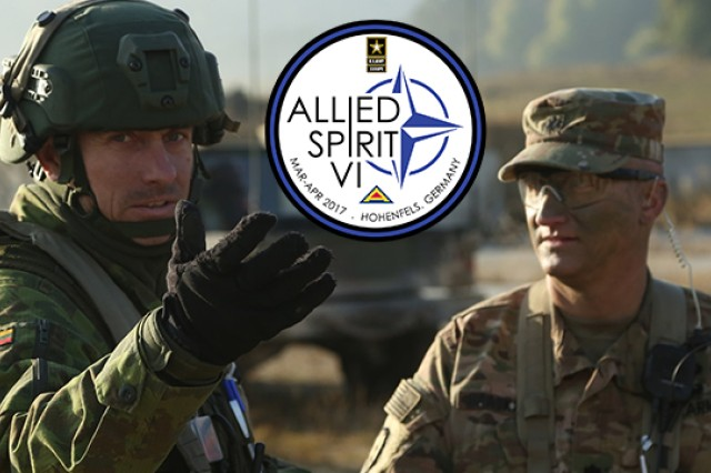Approximately 2,770 participants from 12 nations will participate in Exercise Allied Spirit VI at the 7th Army Training Command's Hohenfels Training Area in southeastern Germany, March 8-31, 2017