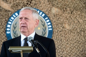 Mattis: Assessment on Afghanistan coming soon