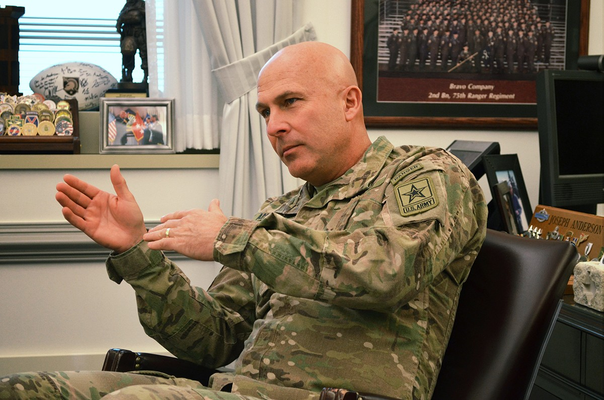 back to the fundamentals an interview with lt gen joseph anderson