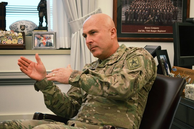 Lt. Gen. Joseph Anderson, the Army's deputy chief of staff, G-3/5/7, shares his insights on the Army's new training strategy.