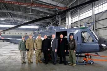 Huey delivery to Kazakhstan means more than just equipment