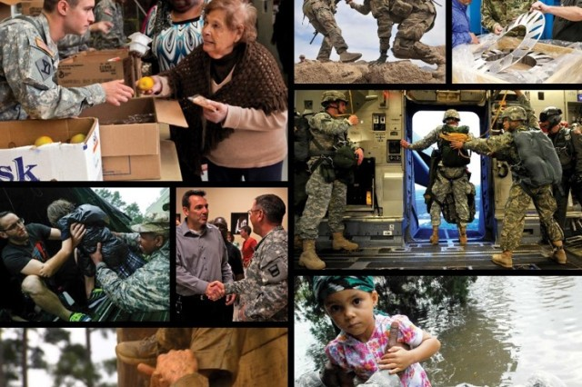 """The theme for the """"America's Army -- Our Profession"""" campaign is """"One Army, Indivisible."""" A central point of that theme is trust, which is foundational for the Army and being ready for any mission."""