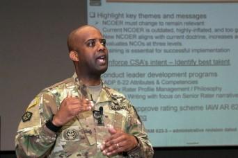 HRC leaders discuss program changes, promotions