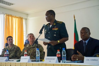 Multinational Planners put final touches on Exercise Unified Focus 2017 in Cameroon
