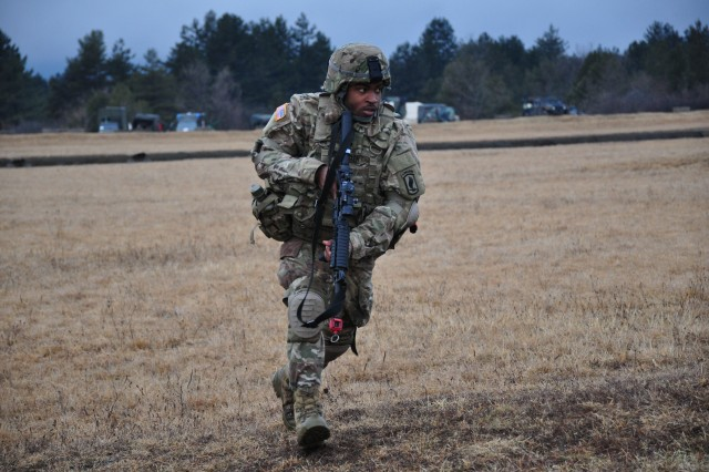 Paratroopers from Charlie Company, 54th Engineer Battalion, 173rd Airborne Brigade and Slovenian Army's 1st Brigade Signal Company trained together to enhance their communication skills during Exercise Raven Strike 17 held in Slovenia from Jan. 30 -- Feb. 9, 2017.