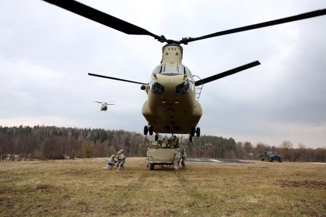 44th ESB conducts sling load training
