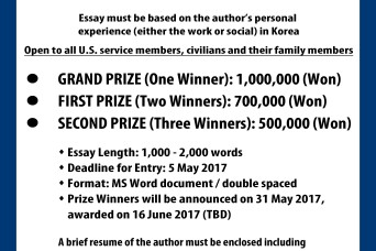 23rd Annual AUSA Essay Contest