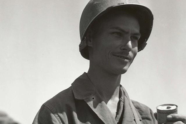 Army Pvt. Desmond Doss.