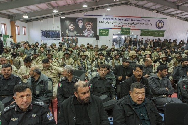 Afghan forces gathered to celebrate Afghan National Defense Security Forces Day for the first time in its history.
