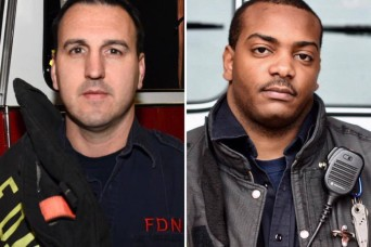 New York Army National Guard Troops Save Plane-Crash Victim