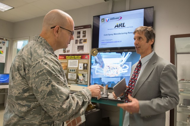 Defense logistics official sees potential in 3-D printing parts