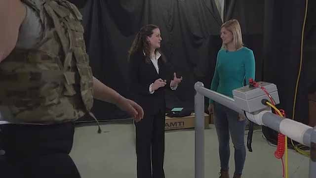 """USARIEM featured in new television program """"Science Works!"""""""