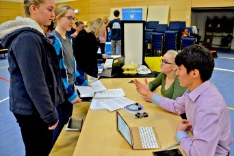 Students explore options at Youth Job and Volunteer Expo